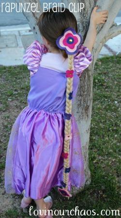 Rapunzel Braid Hair Clip