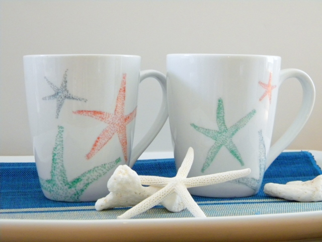 Decorated Mugs Fun Family Crafts