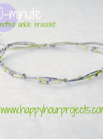 10-Minute Knotted Bracelet