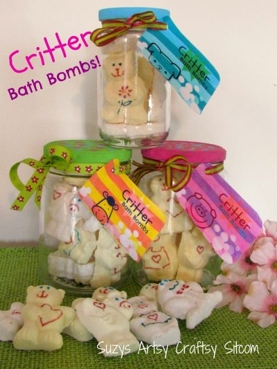 Critter Bath Bombs