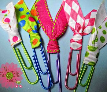 Sweet & Easy Paperclip Bookmarks