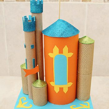Cardboard Tube Castles