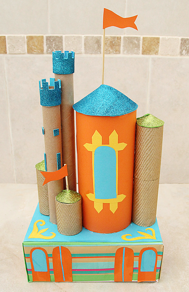 Cardboard Tube Castles Fun Family Crafts