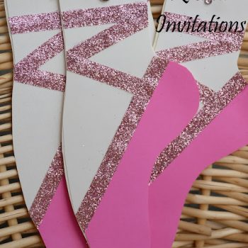 Dance Recital Invitations