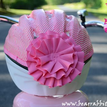 Washi Tape Bicycle Helmet