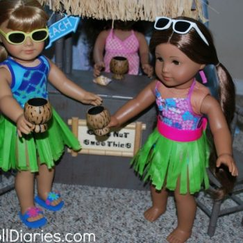 Hula Skirts for Dolls