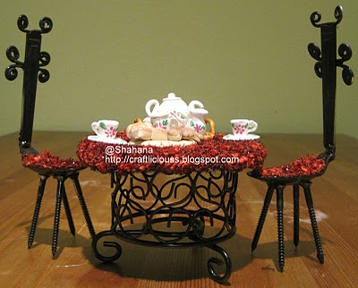 Miniature Table for Two