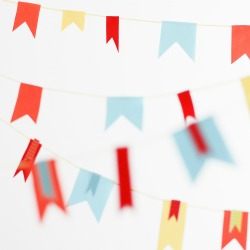 Simple Ribbon Bunting