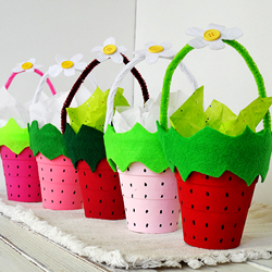 Strawberry Treat Cups Fun Family Crafts