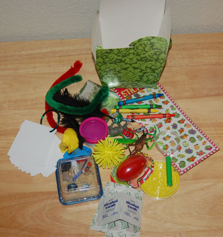Travel Activity Box