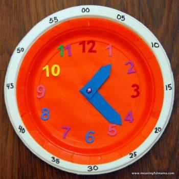 Teaching Time Clock