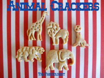 Homemade Animal Crackers Fun Family Crafts