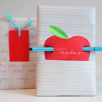 Teacher Gift Wrap