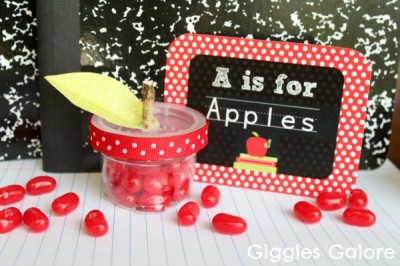 Candy Apple Treats