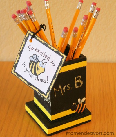Pencil Holder Teacher Gift