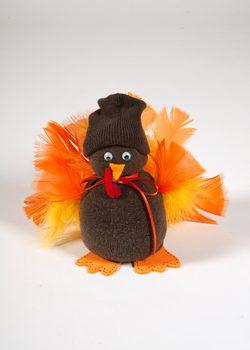Thanksgiving Sock Turkey