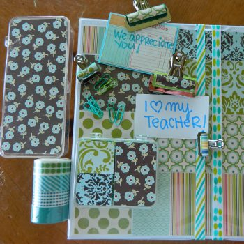 Embellished School Supplies