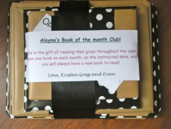 """Book of the Month"" Gift"