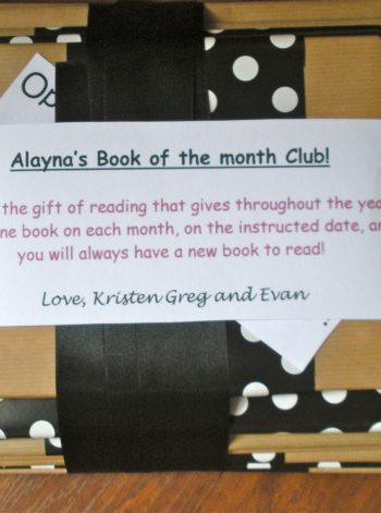 """""""Book of the Month"""" Gift"""