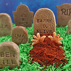 Cookies 'n Cream Tombstones
