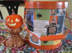 Orange Candy Bucket