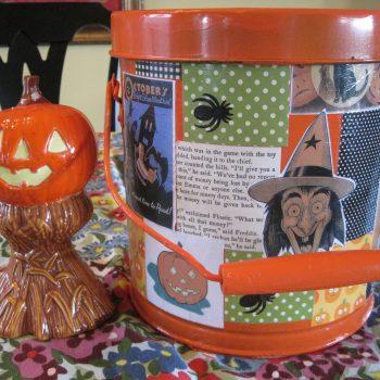 Orange Candy Bucket