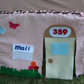 No-Sew Fabric Playhouse