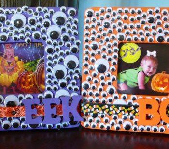 Halloween Googly Eye Frame