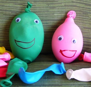 Balloon Stress Ball Friends