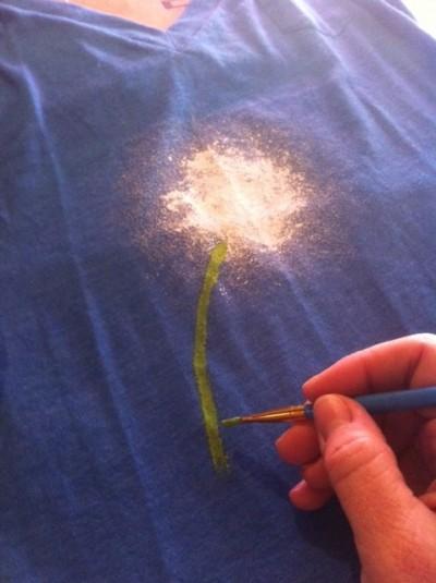 Blowing Dandelion T-shirt