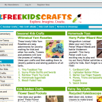New Site: AllFreeKidsCrafts!