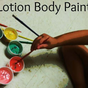 Baby Lotion Body Paint