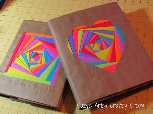 Book Cover Craft Quebec : Colorful book covers fun family crafts