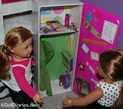 Doll Sized School Locker