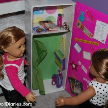 Doll Sized School Locker