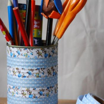 Washi Tape Pen Holder