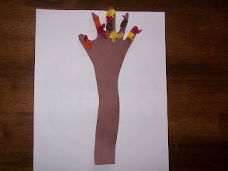 Fall Hand and Arm Tree