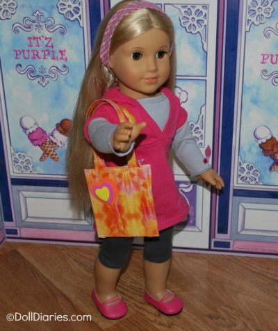 Duct Tape Tote for Dolls