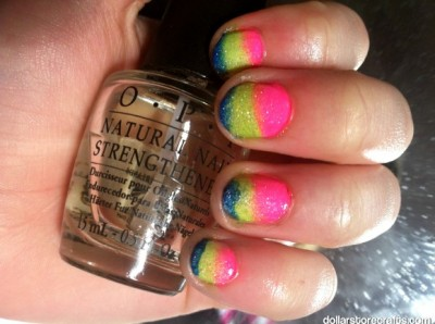 Easy Ombre Nail Art