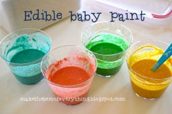 Finger Paint for Babies