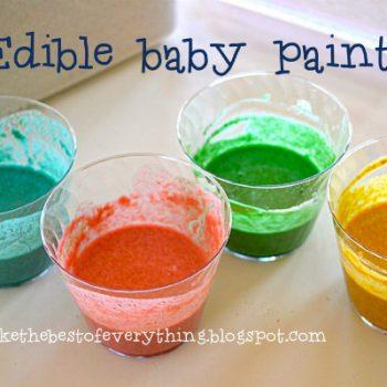 Finger Paint for Babies