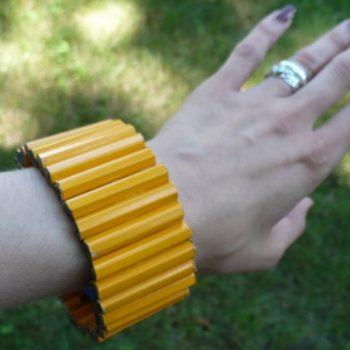 Pencil Cuff Bracelet