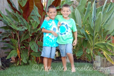 Tie-Dye Kids Shirts