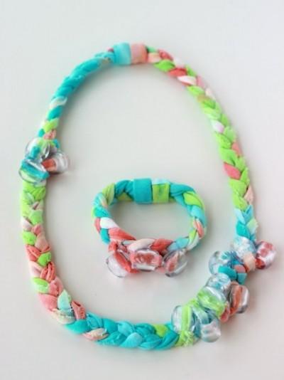 Tie Dye T-shirt Jewelry