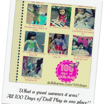 100 Doll Play Activities