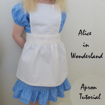 Alice in Wonderland Apron