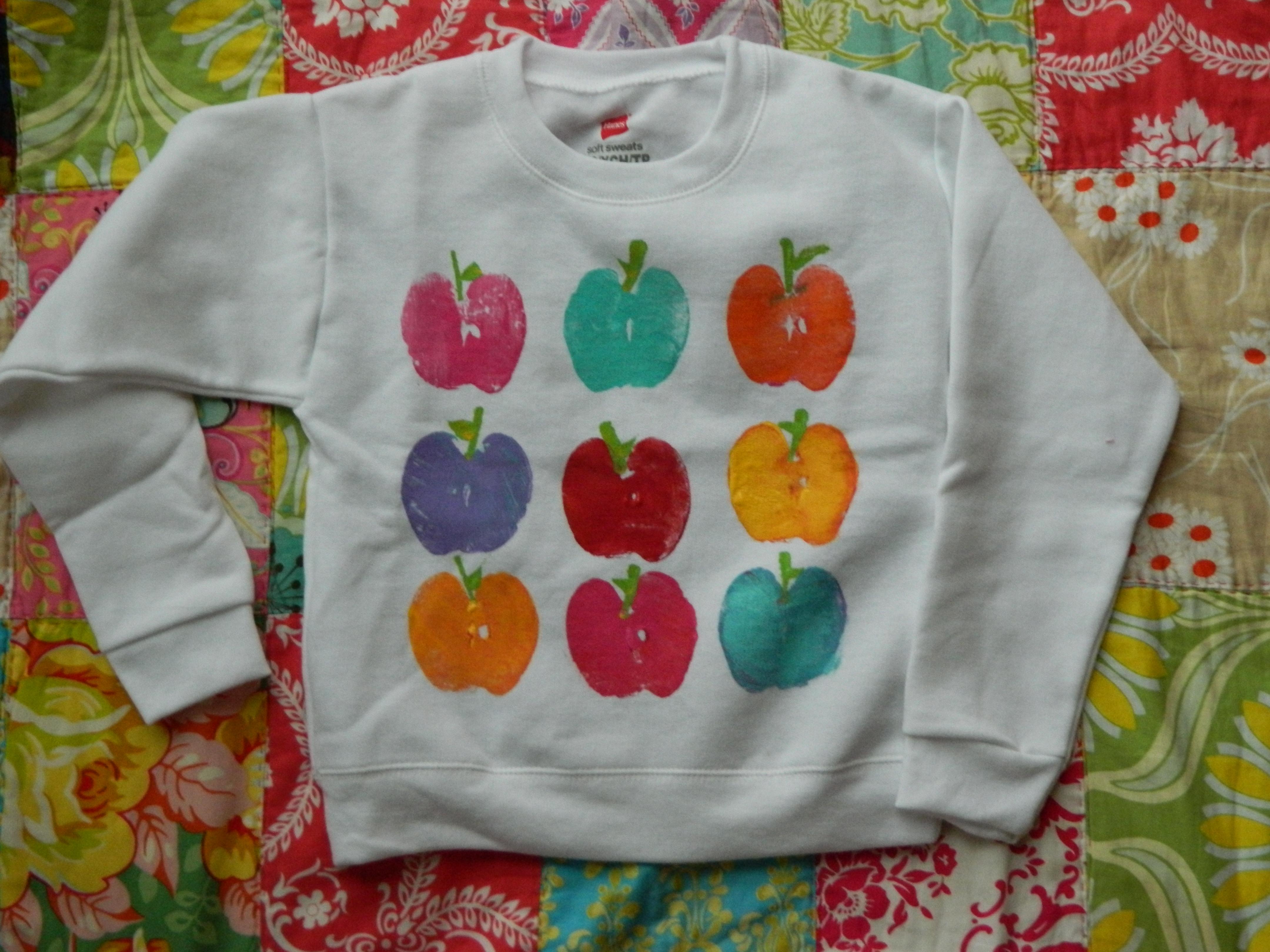 Apple Sweatshirt