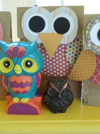Owl Gift Bags