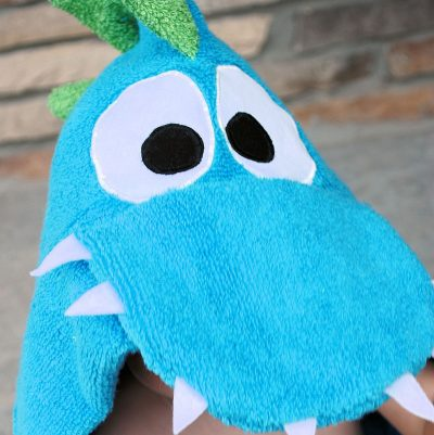 Dragon Hooded Towel