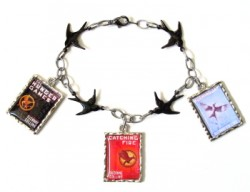 Hunger Games Charm Bracelet
